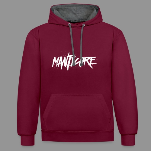Pull a capuche Manticore - Sweat-shirt contraste
