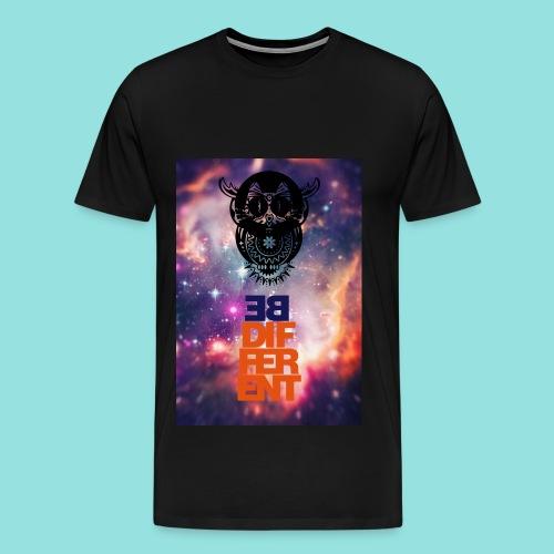BEDIFFErENT OWL  M - Männer Premium T-Shirt
