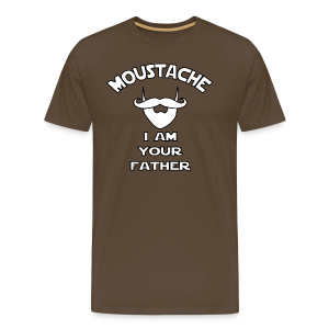Moustache I Am Your Father - Men's Premium T-Shirt