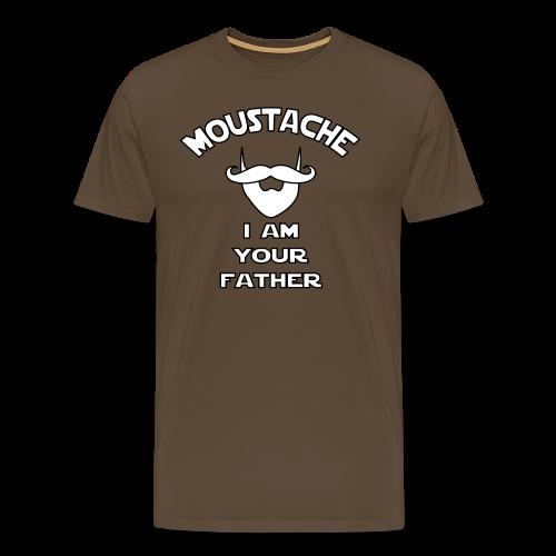 Moustache I Am Your Father - Men's Premium T-Shirt