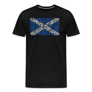Flower of Scotland - Men's Premium T-Shirt