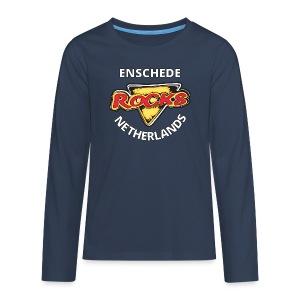 Long Sleeve Shirt (kids) - Teenager Premium shirt met lange mouwen