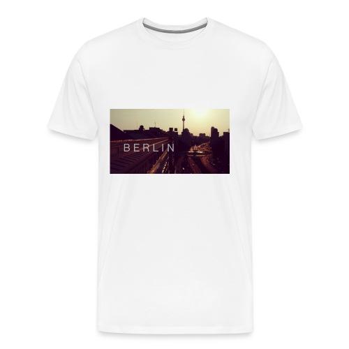 Berlin City Premium T-shirt - Männer Premium T-Shirt