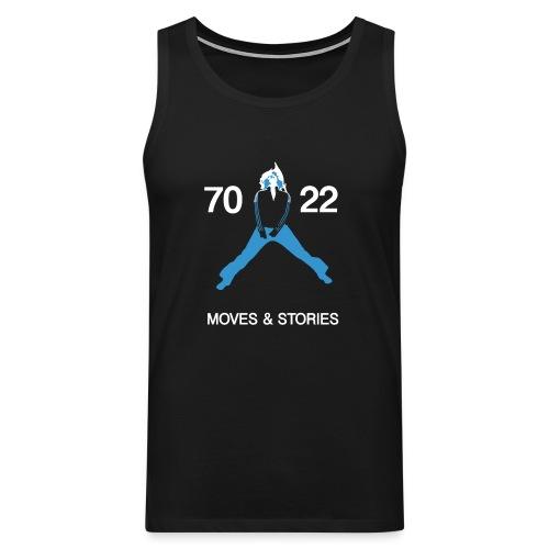 7022 Moves & Stories - Männer Premium Tank Top