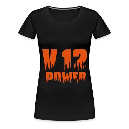 V12 Frauen T-Shirt - Frauen Premium T-Shirt