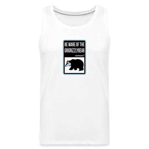 FP Grigrizzlybear tanktop (Men) - Men's Premium Tank Top