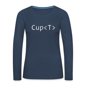 Cup of T - Women's Premium Longsleeve Shirt