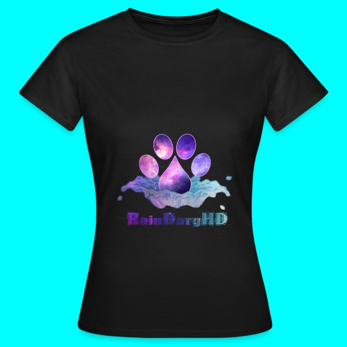 Splashing Rain - Womens - Women's T-Shirt