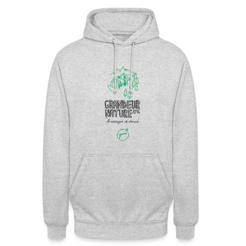 Sweat-Shirt à capuche unisexe Grandeur Nature - Sweat-shirt à capuche unisexe