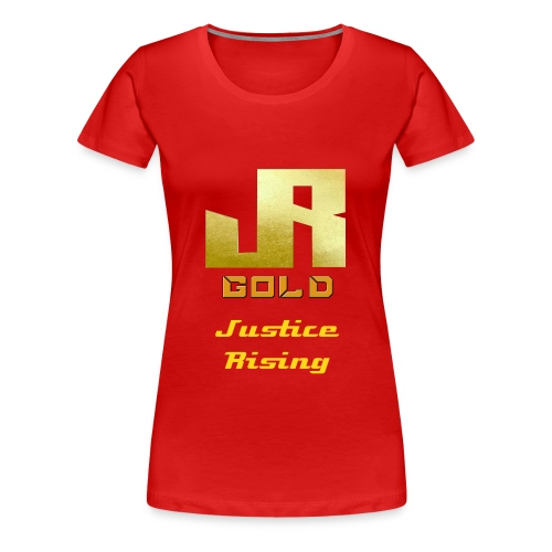 Gold T-Shirt For Women - Women's Premium T-Shirt