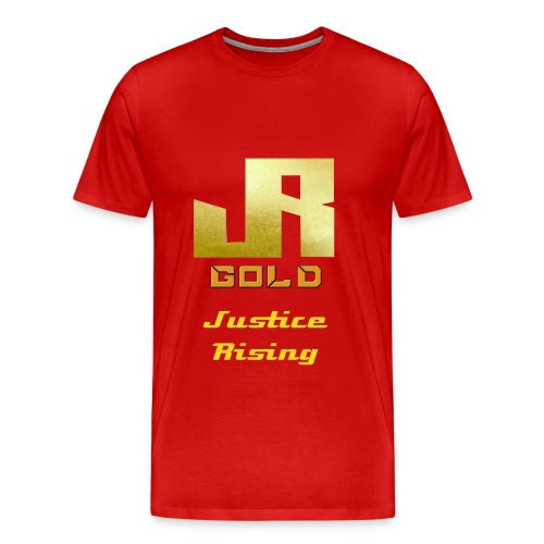 Gold T-Shirt For Men - Men's Premium T-Shirt