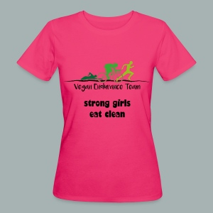 girls team shirt - Frauen Bio-T-Shirt