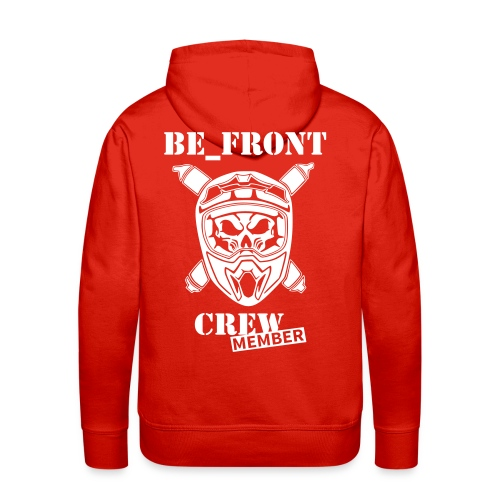 BE_FRONT hoodie colour - Männer Premium Hoodie