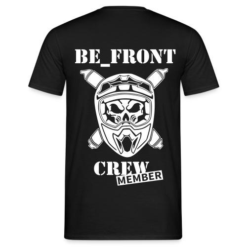 BE_FRONT T-Shirt  - Männer T-Shirt
