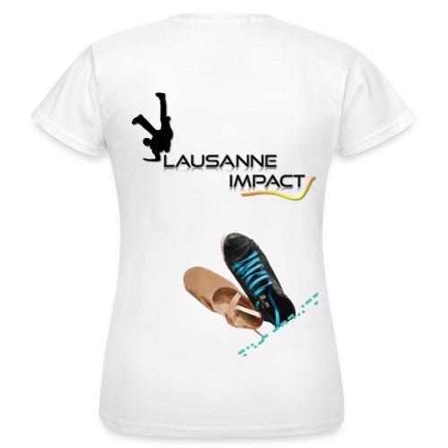 T14. Fait sur mesure - danse homme - T-shirt Femme