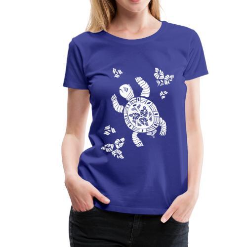 Indian Schildkröte bis 3XL - Frauen Premium T-Shirt