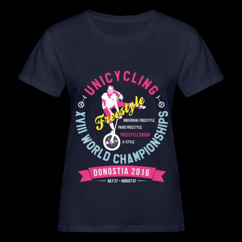 UNICYCLING WM – DONOSTIA 2016 - Frauen Bio-T-Shirt