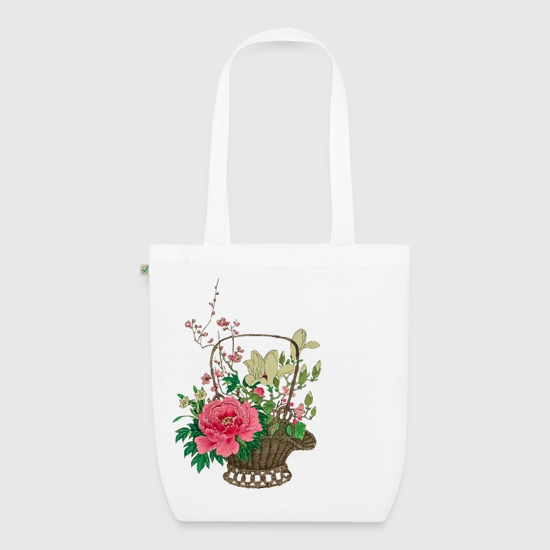 Stoffen Tas Design : Japanese ikebana stoffen tas spreadshirt