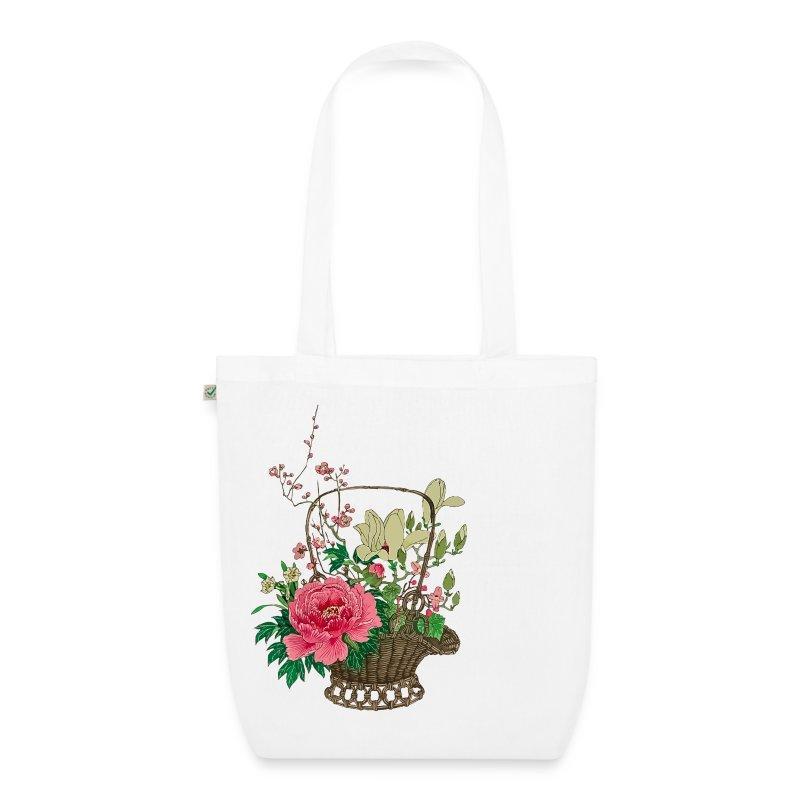 Stoffen Hippie Tas : Japanese ikebana stoffen tas spreadshirt
