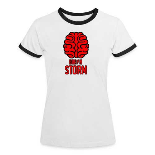 BrainStorm Women's Ringer Shirt - Women's Ringer T-Shirt