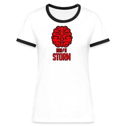 BrainStorm Women's Ringer Shirt - Women's Ringer T-Shirt