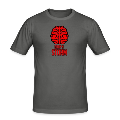 BrainStorm Men's Slim Fit T-Shirt - Men's Slim Fit T-Shirt
