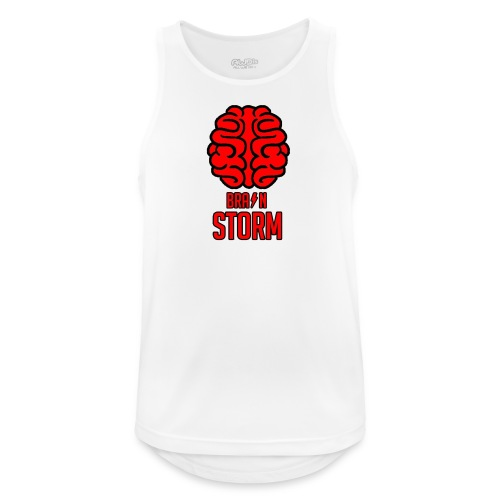 BrainStorm Men's Breathable Tank Top - Men's Breathable Tank Top