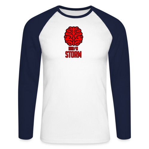 BrainStorm Men's Long-Sleeve Baseball T-Shirt - Men's Long Sleeve Baseball T-Shirt
