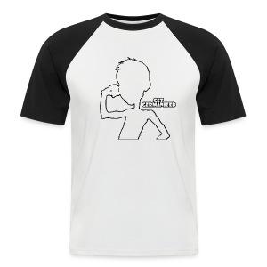 Get Germanized Silhouette Baseball Bright - Men's Baseball T-Shirt