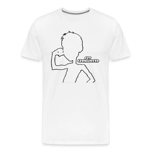 Get Germanized Silhouette Bright - Men's Premium T-Shirt