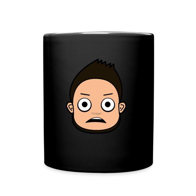 Erschrocken Cartoon Mug