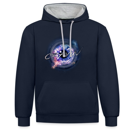 HOLD ME Hoodie [MALE] - Contrast Colour Hoodie