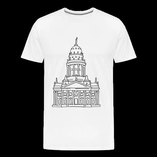 Französischer Dom Berlin - Männer Premium T-Shirt