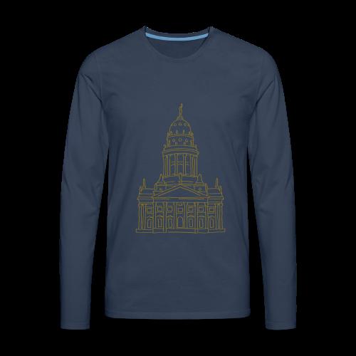 Französischer Dom Berlin - Männer Premium Langarmshirt