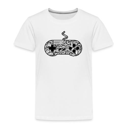 Retro Controller T-Shirt - Kids' Premium T-Shirt