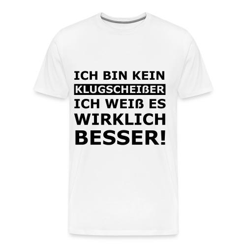 T-SHIRT - KLUGSCHEISSER - HERREN - Männer Premium T-Shirt