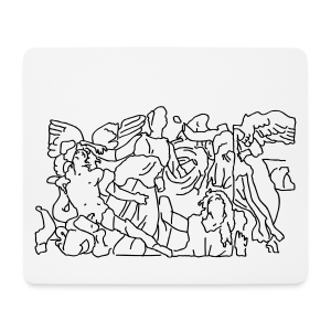 Pergamonaltar Berlin - Mousepad (Querformat)