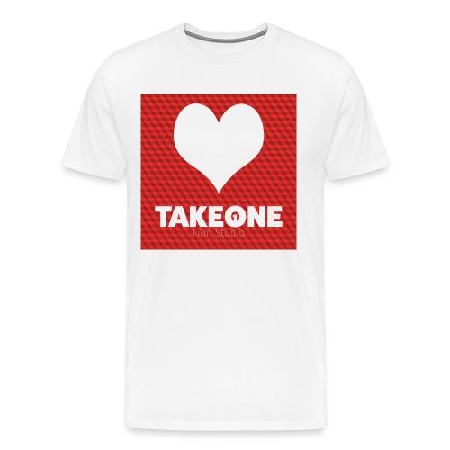 iLoveTAKEONE - Männer Premium T-Shirt