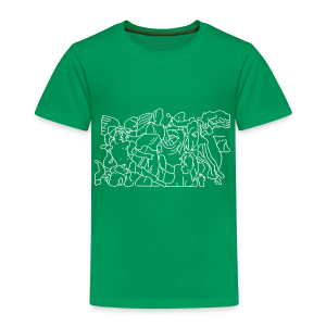 Pergamonaltar Berlin - Kinder Premium T-Shirt