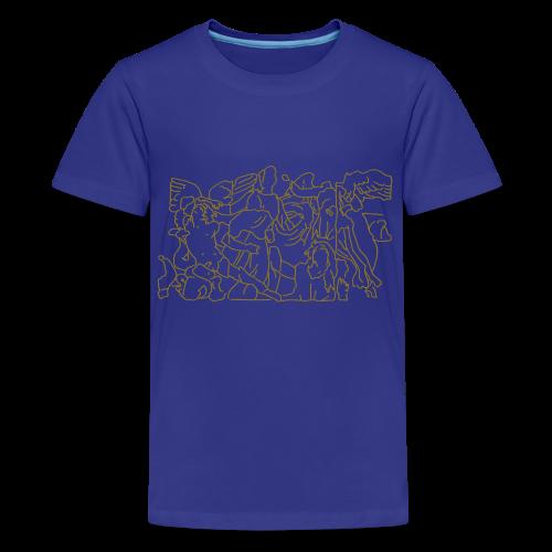Pergamonaltar Berlin - Teenager Premium T-Shirt