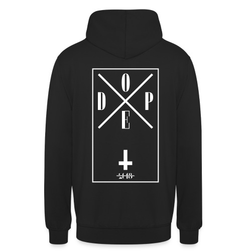 DOPE hoodie - Unisex-hettegenser