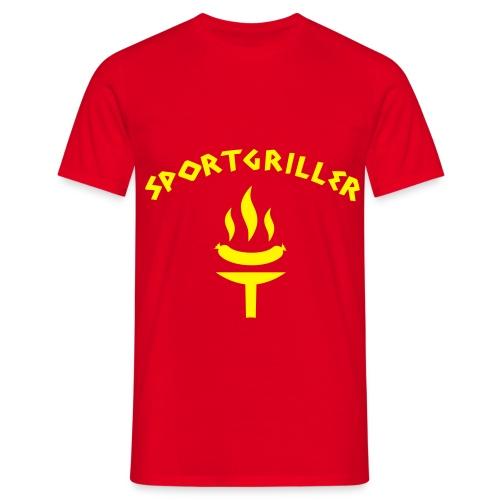 Sportgriller T-Shirt - Männer T-Shirt