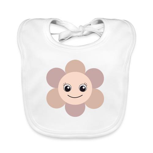 Blümchen - Baby Bio-Lätzchen