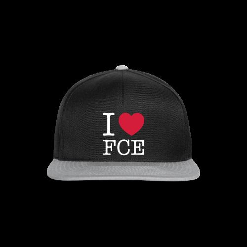 Snapback Cap mit  I ♥ FCE  - Snapback Cap