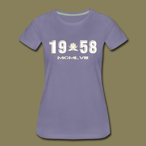 Maglietta Premium da donna - 1958 - Maglietta Premium da donna