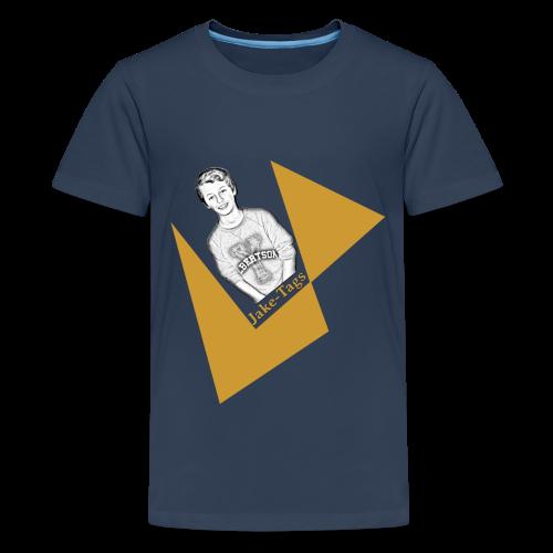 JakeTags-Logo PremiumShirt - Teenager Premium T-Shirt