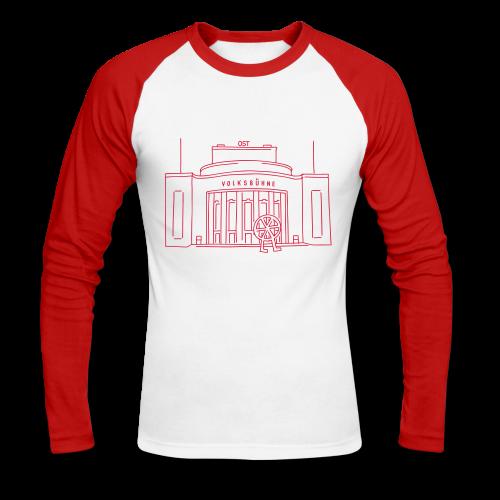 Volksbühne Berlin - Männer Baseballshirt langarm