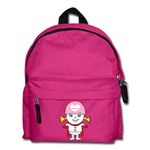 Superheld Mädchen - Kinder Rucksack