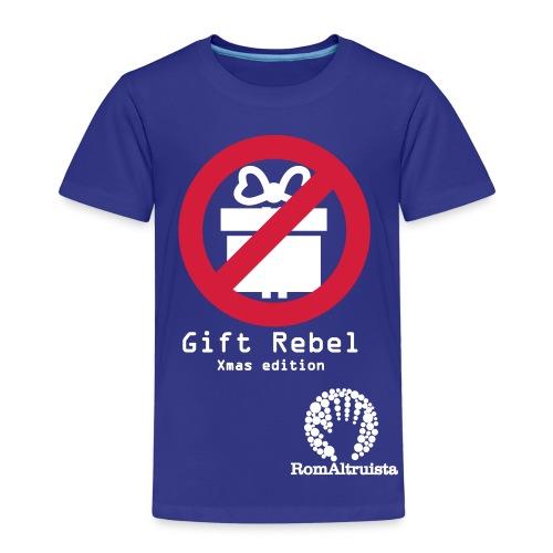 Romaltruista Christmas Rebel - Maglietta Premium per bambini