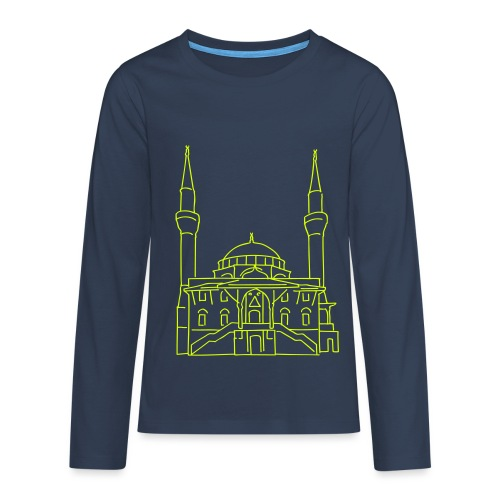 Sehitlik Moschee Berlin - Teenager Premium Langarmshirt